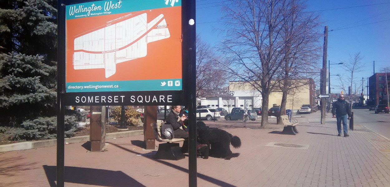 Community groups and the Wellington West BIA have decided not to rename Somerset Square after former councillor Shawn Little.