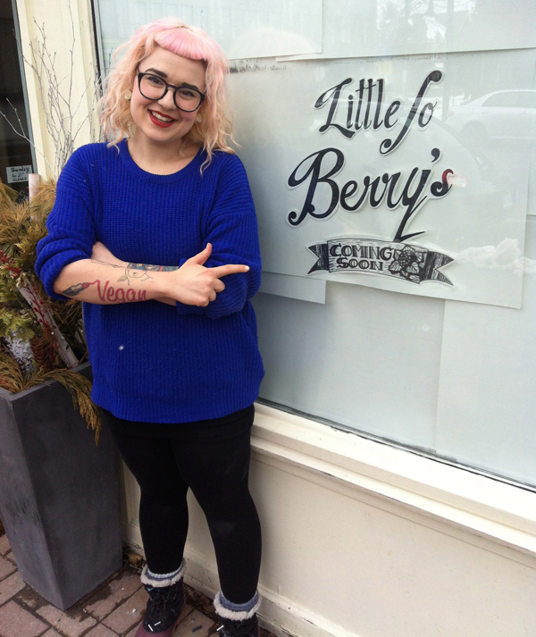 Josephine (Jo) Masterson, formerly of Auntie Loo's Treats, is opening a new vegan café this month. Visit Little Jo Berry's online at littlejoberrys.com.