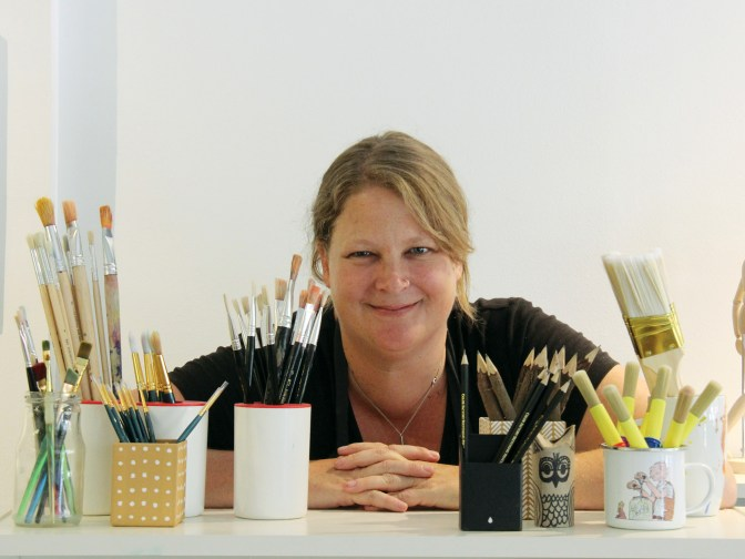 There's been a lot of buzz about Kate Settle's new art studio for young people.