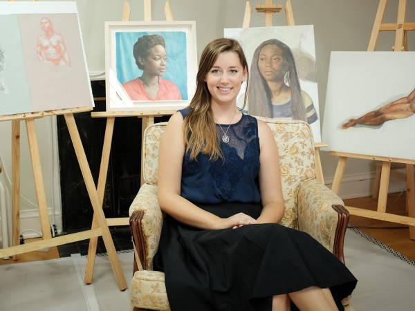Sarah Marie Lacy is one of the newestadditions to the WestEnd Studio Tour.Photo by Ted Simpson