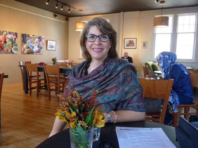 Kitchissippi's Jackie Barwin is this year's chair of CHOICES, an annual Women's Campaign event taking place November 1. For 10 years, CHOICES has been bringing interesting and dynamic women speakers to share their personal stories about the choices they have made in their lives and how those choices have impacted the lives of others. Photo by Judith van Berkom