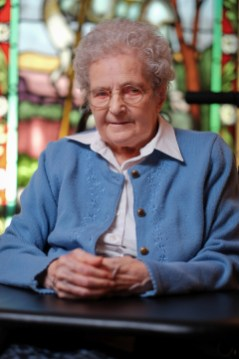 Sister Annette entered the order