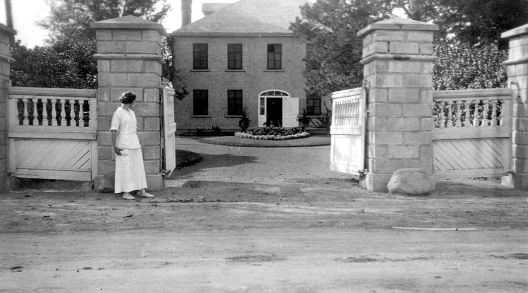 This view of Maplelawn is from 1906. Photo courtesy of the City of Ottawa Archives, CA-1864