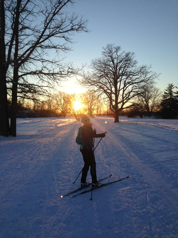 A sunset ski along the SJAM. Photo submitted by Graham Page
