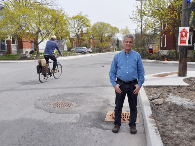 """""""Our fight was never primarily about parking spots, though. And it certainly wasn't born out of animosity towards cyclists and safe cycling infrastructure,"""" writes Ron Elliot. Photo by Andrea Tomkins"""