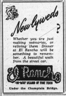 Newspaper ad in the Ottawa Journal in 1944.