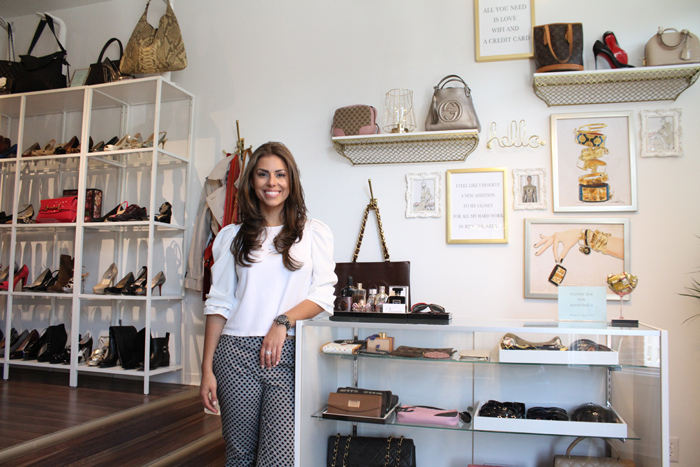 Owner-founder Dia Shams says she is excited to bring designer brands to Ottawa through her new luxury consignment store Valamode.