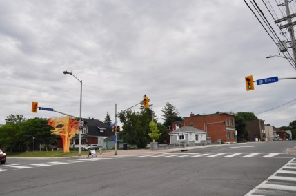 Proposed location of new development in Westboro. Photo by Andrea Tomkins