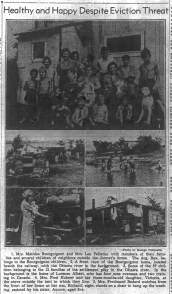 Clipping from the Ottawa Journal, August 15, 1942