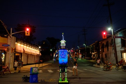 Junkyard Symphony's Robot Jam takes over the streets