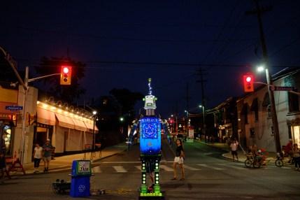 Junkyard Symphony's Robot Jam takes over the streets