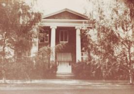 The McKellar home around 1920