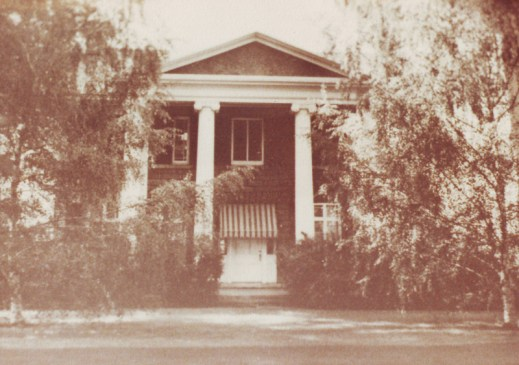 The McKellar home around 1920