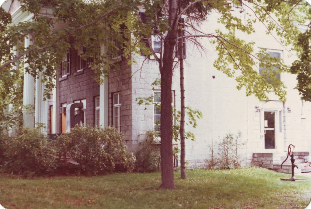 Side view with well in 1978.