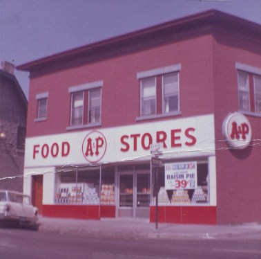 Gilchrist & Son eventually became an A&P and it remained so until 1973. The building was sold by the Gilchrist family in 1974.Photo courtesy of Donald Gilchrist