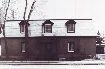 A view of the Aylen-Heney House in the 1970s.