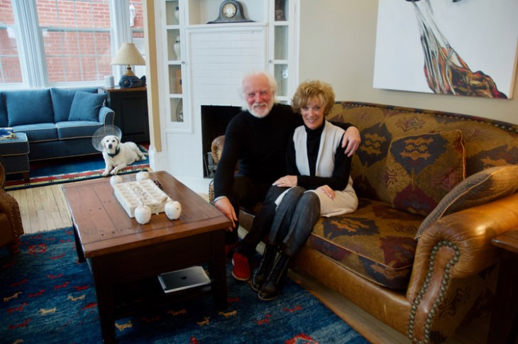 Dan Logue and Janet Yale have undertaken extensive renovations over the 21 years they've lived here and took care to keep many of the charming characteristics of the original home, which was built in 1904. Photo by Andrea Tomkins