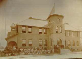 Hintonburg Public School, circa 1905. Photo courtesy of Dave Allston