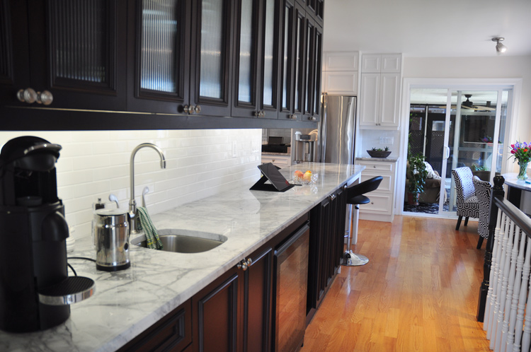 View of kitchen. Photo by Andrea Tomkins
