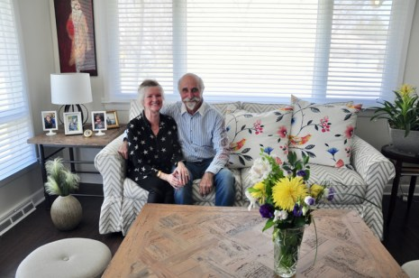 Rosemary and Joe Cotroneo are the owners of 651 Rowanwood Avenue. Photo by Andrea Tomkins