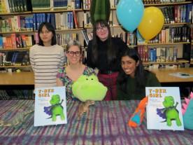 Ko-Chi Chen, Ms. Smid, Hanna Carkner-Botte, and Maya Kumar