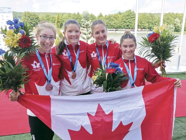Maren Bradley world bronze medal