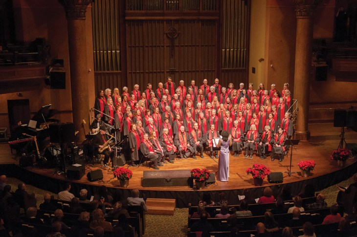 The Big Soul Project performs at last year's annual Christimas concert.