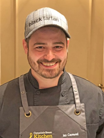 Chef Ian Carswell, who operates Black Tartan Kitchen in Carleton Place, won gold at Canada's Great Kitchen Party regional competition.