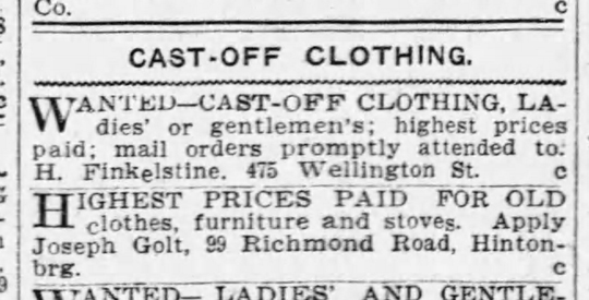 A scanned copy of an Ottawa Citizen article from July 2, 1903 is seen