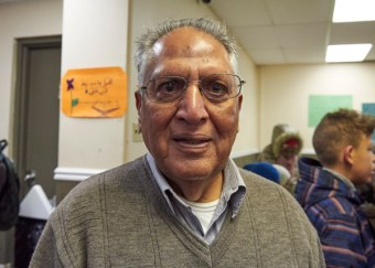 Naeem Mallik, President of the Ottawa Muslim Association. Photo by Ellen Bond