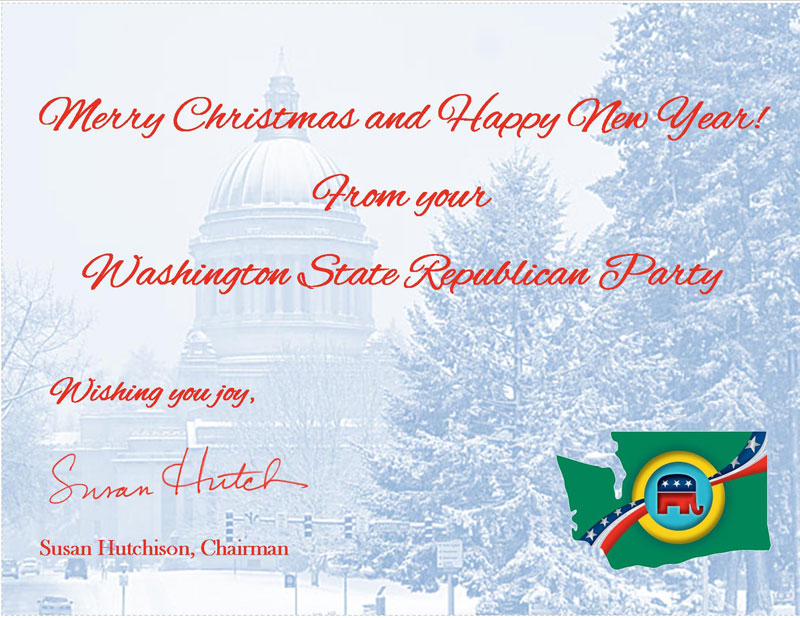Merry Christmas card from Republican Party