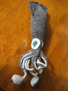 Kraken pattern by Hansi Singh, knitted by Kit Dunsmore