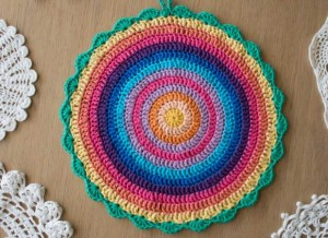 Mandala designed by Marinke... and so round!