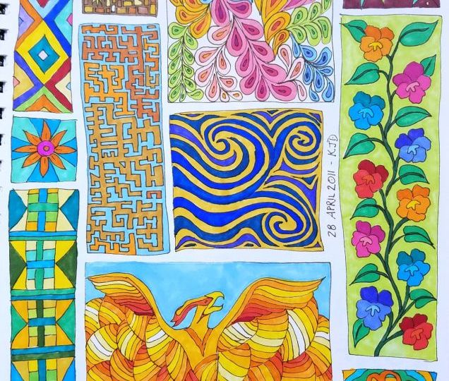 coloring with markers – Kit Dunsmore\'s Blog