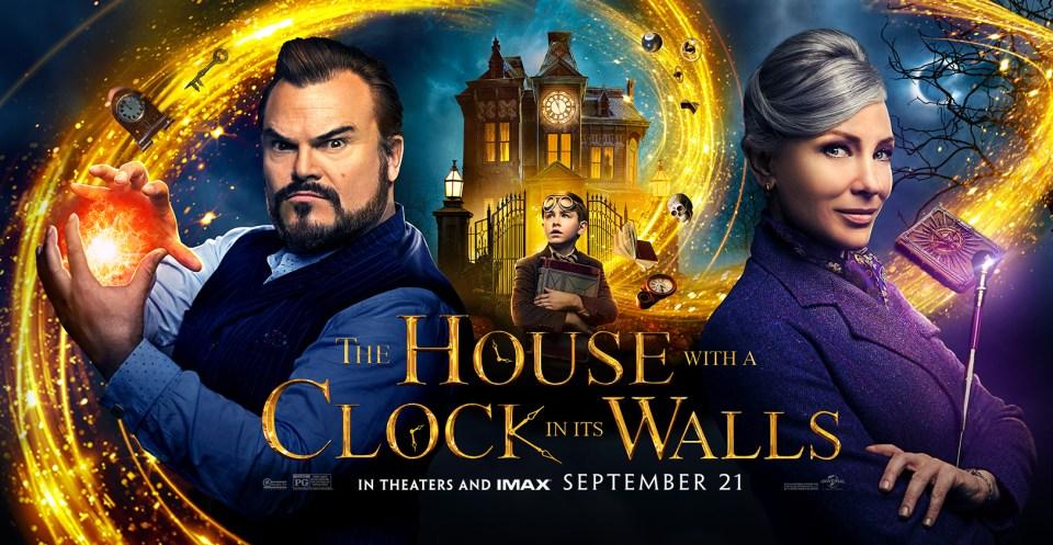 HouseClockWallsPoster