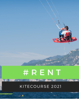 kite equipment rental and boat assistance services