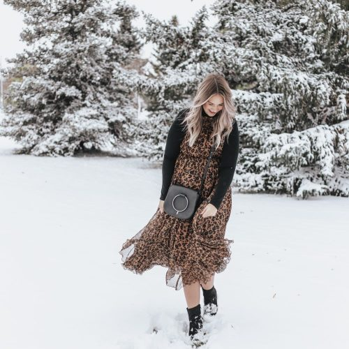 How to: Wear A Dress in Winter