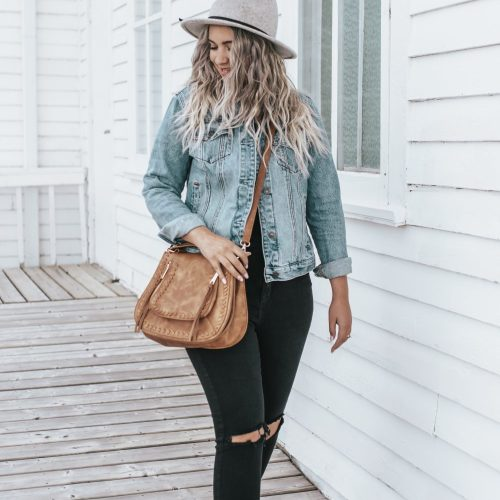 How to Style a Denim Jacket This Fall