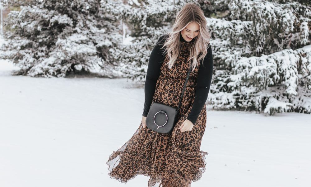 How to: Wear A Dress in Winter