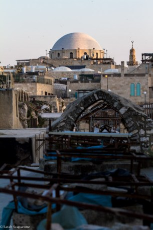 Sui tetti di Gerusalemme