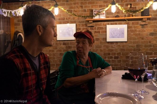 Mauro e nonna Rosa