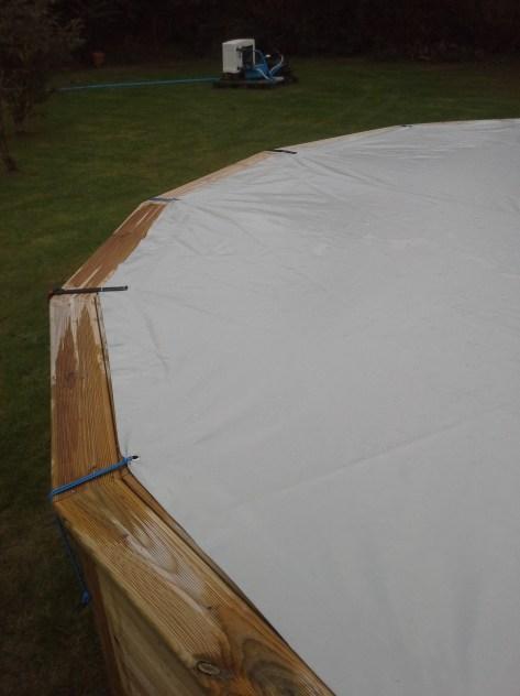 bache de couverture de piscine