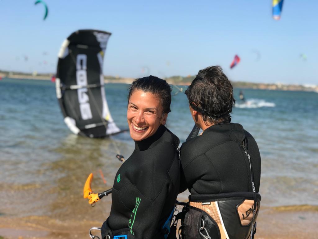 kitesurfing alvor