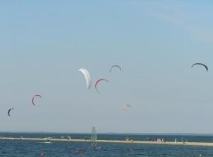 Kitesurfing Rewa