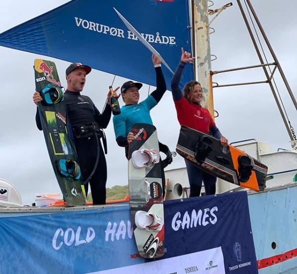 Cold Hawaii Big Air winnaar Kevin Langeree