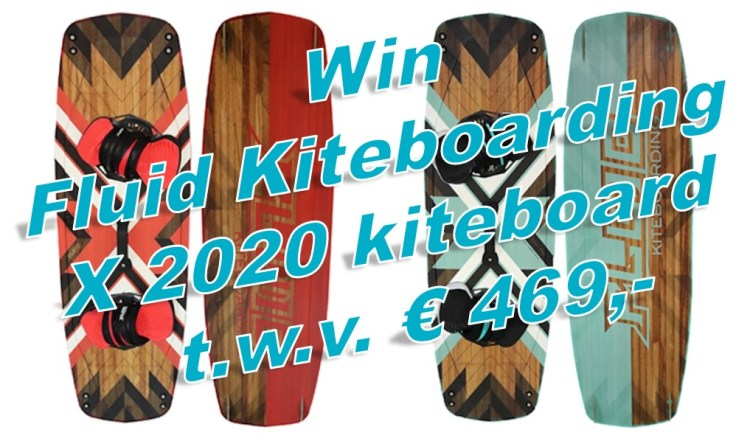 Win een kiteboard