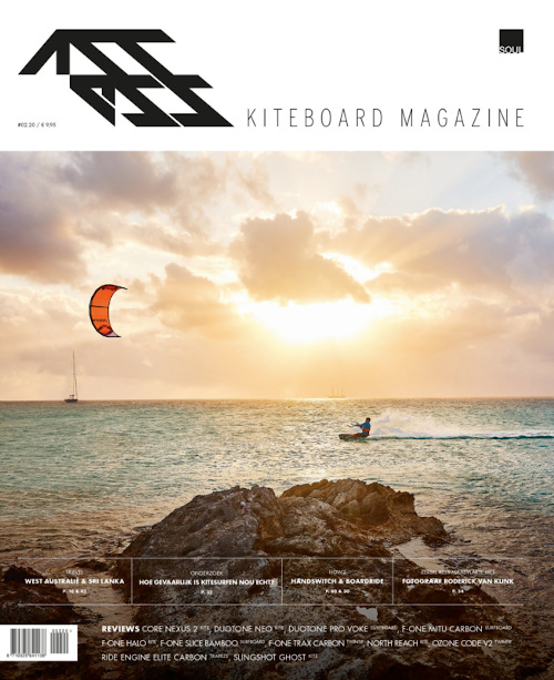 Sinterklaascadeau - kitesurf tijdschrift of abonnement