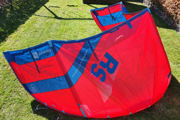 Eleveight kite review - Eleveight RS v5