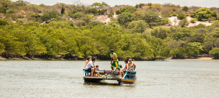 activity in Icarai de Amontada, boat trip