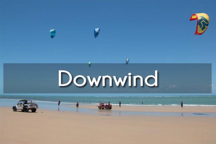 les downwinds dans le nordeste du Brésil